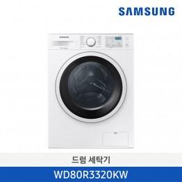 [개원특가][삼성전자] 삼성 빌트인 드럼 세탁기 WD80R3320KW [용량:8Kg]